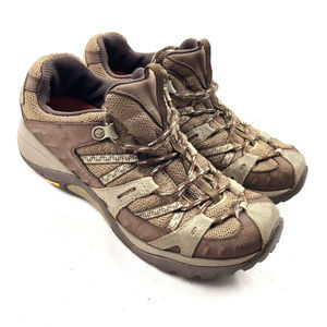 Merrells Siren Sport Hiking Trail Shoes Olive Sz 6